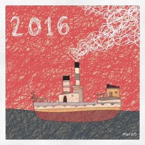 barco ship ilustración marinero navegar futuro sailor sailing