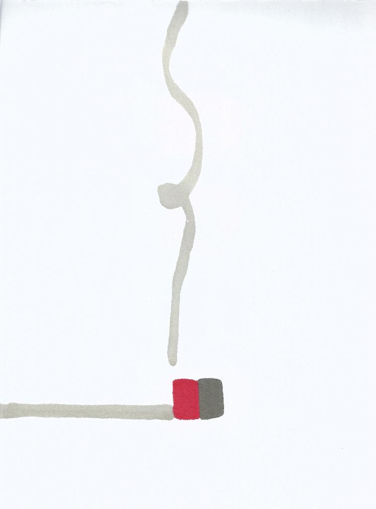 dibujo drawing minimal cigarrillo cigarrette humo fumar