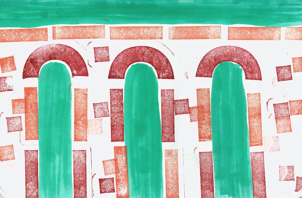 dibujo drawing minimal stamp sello caucho agua roman empire imperio romano arquitectura civil