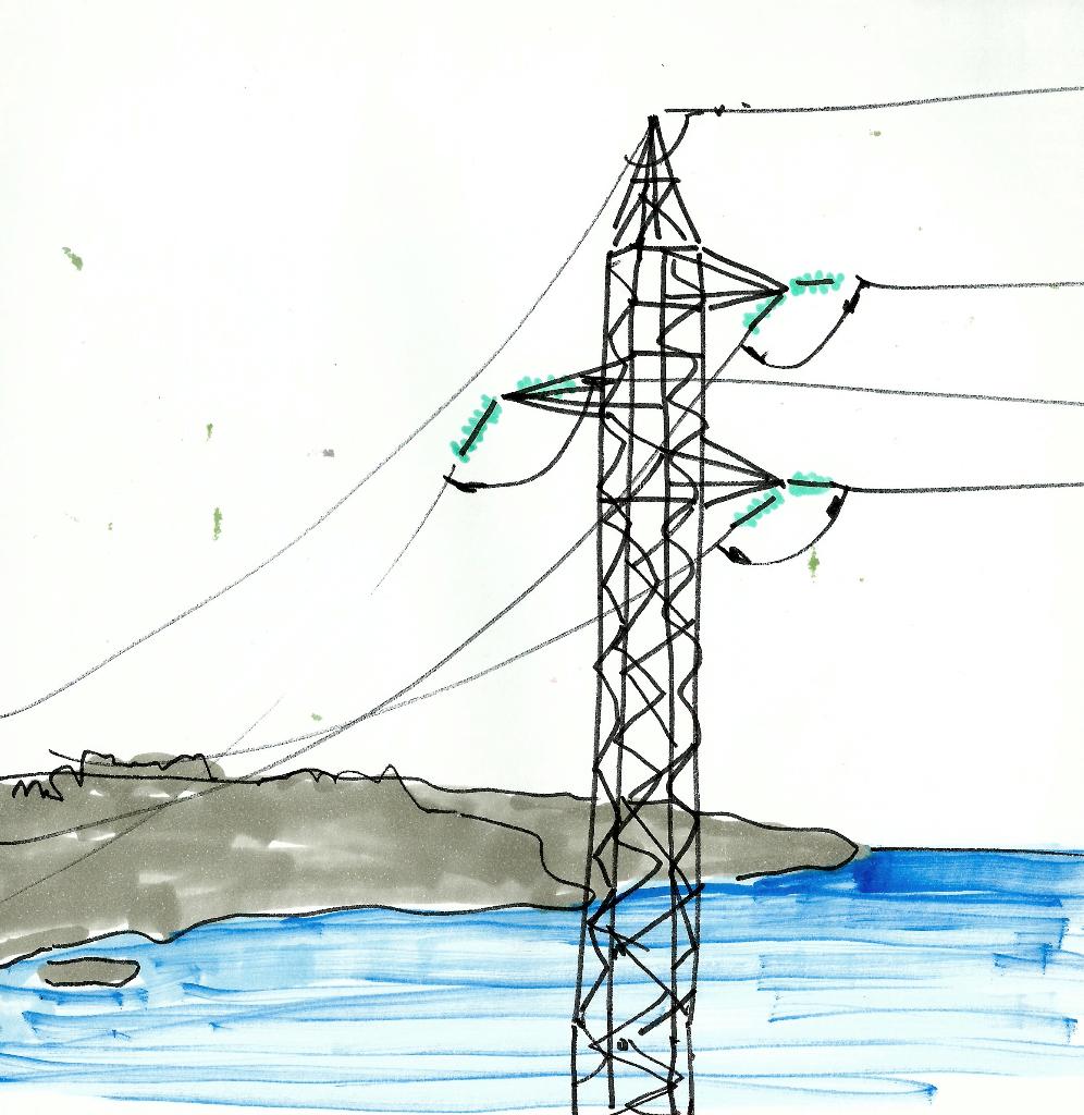 dibujo drawing minimal electricidad red