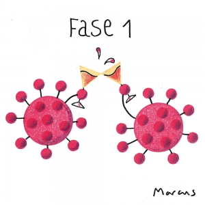 covid coronavirus ilustracion metafora conceptual