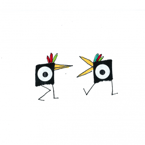 dibujo pollo drawing minimal