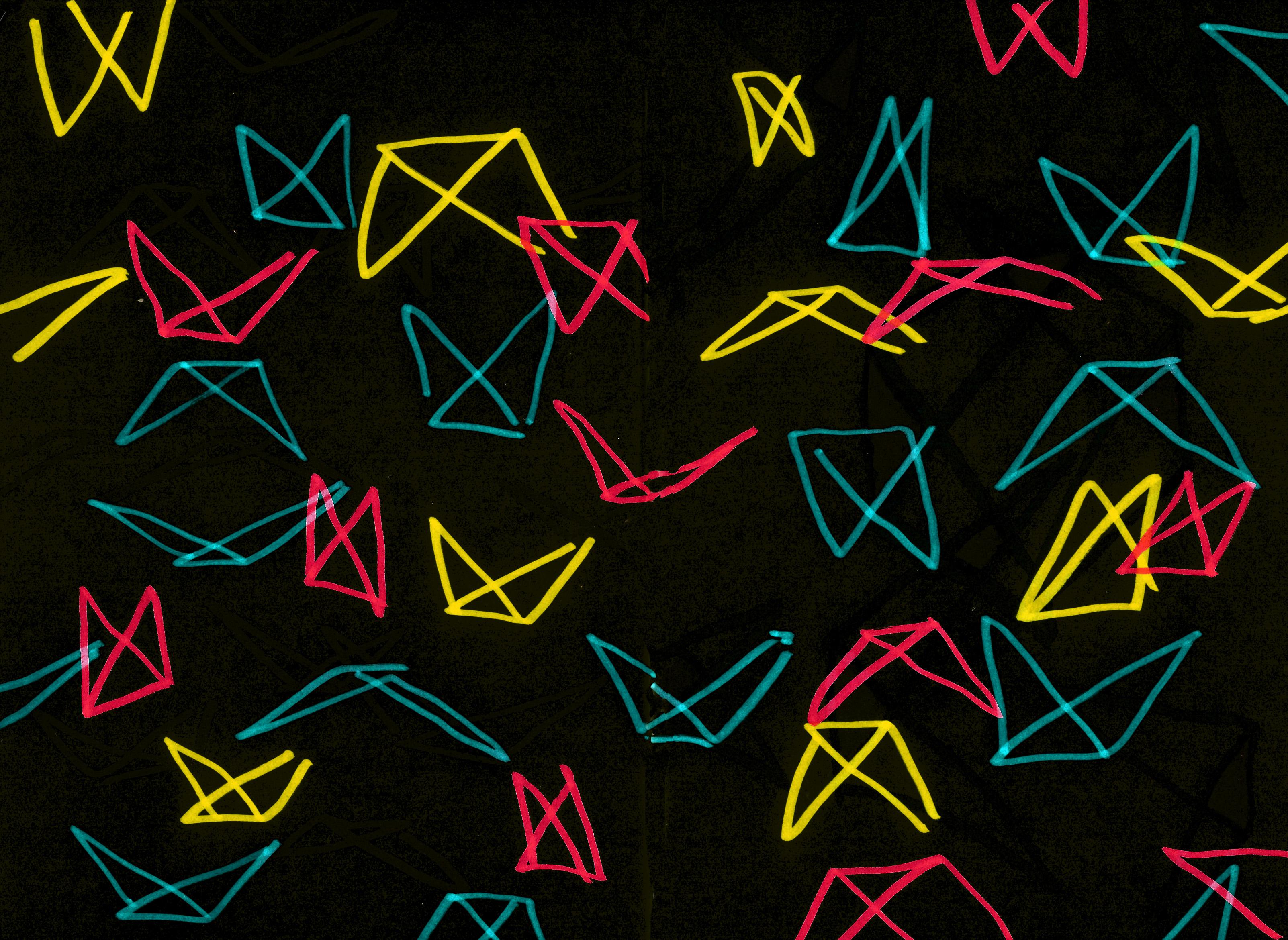 danza española videoarte escenografía música videoart proyección federico lorca perlimplín belisa amor pájaros papel