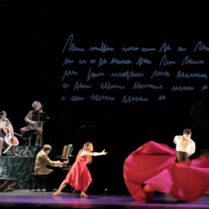 danza española videoarte escenografía música videoart proyección federico lorca perlimplín belisa amor